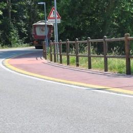 Senna, 15° incidente  vicino alla ciclabile