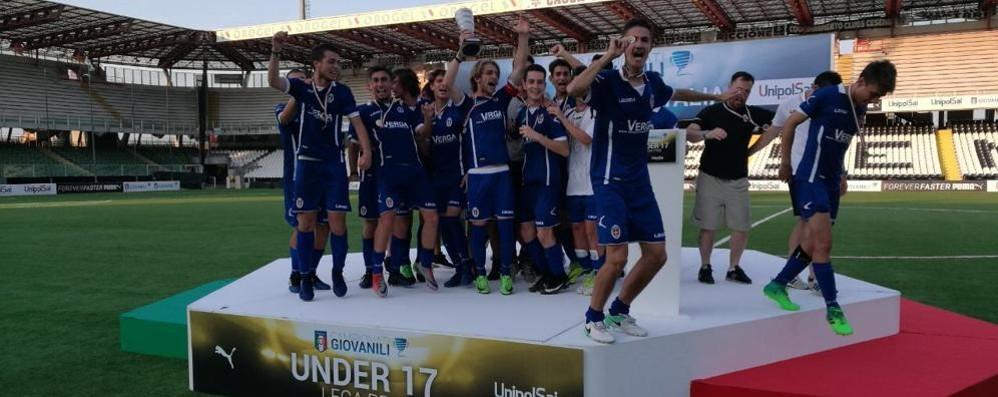 Supercoppa  Under 17  Vince l'Inter, ma Como fa festa