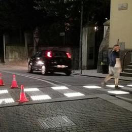 """Zebre """"intelligenti"""" in funzione  San Fermo è più sicura"""