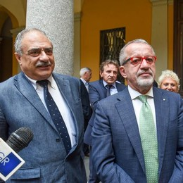 Maroni a Como conferma la promessa  «Tangenziale gratuita da gennaio»