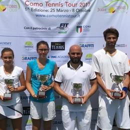 Como Tennis Tour a San Fermo Vanno segno Rotteglia e Reina