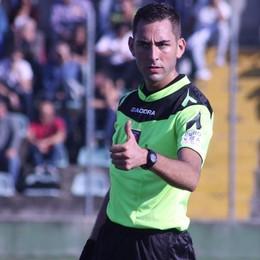 Calcio, l'arbitro Colombo porta Como in Lega Pro