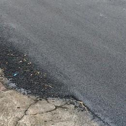 Olgiate, asfaltature a prezzo di saldo  Il sindaco: «Attenti è una truffa»