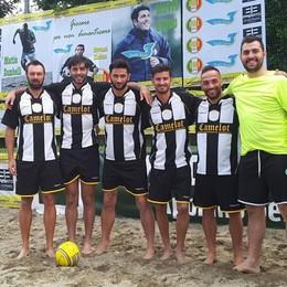 Beach soccer Silvio Cuoco Cup I comaschi Camelot sul podio