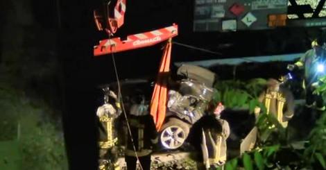 Incidente Cucciago, la rimozione dell'auto