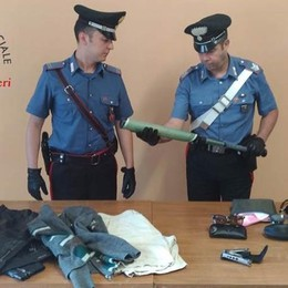 Tremezzina, due arresti per furti sulle auto  Sequestrata una mazza da baseball