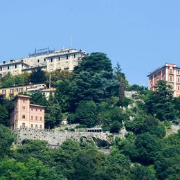 Brunate, parte il cantiere  all'ex hotel Milano 5 stelle