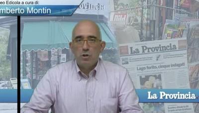 Video Edicola/Prima Pagina dell'1 agosto 2017
