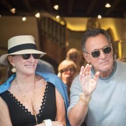 Lo shopping di Springsteen in centro  «Como? Il posto più bello del mondo»
