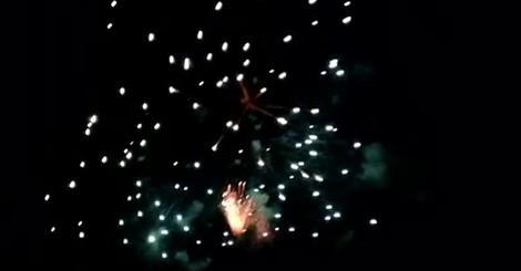 I fuochi d'artificio a Bizzarone