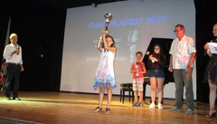La piccola Giorgia ha vinto il Cantalanzo