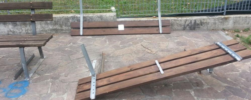 Tavernerio, vandali al parco giochi  «Adesso aumentiamo i controlli»