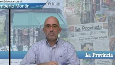 Video Edicola/Prima Pagina del 4 agosto 2017