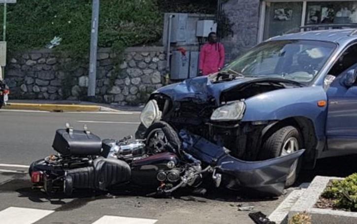 Incidente a Lurago d'Erba  Grave un motociclista