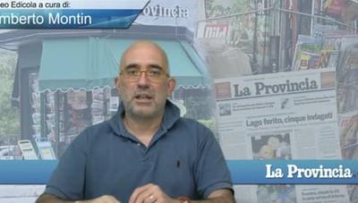 Video Edicola/Prima Pagina del 6 agosto 2017