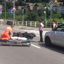 Incidente in Napoleona  Motociclista ferito