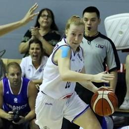 Europei giovanili di basket  Beatrice Del Pero agli ottavi