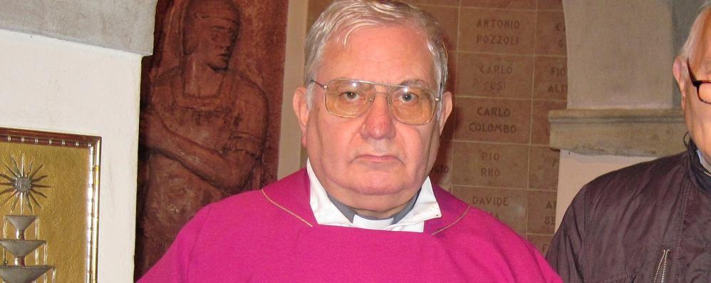Chiesa in lutto a Cabiate  Il parroco muore d'infarto