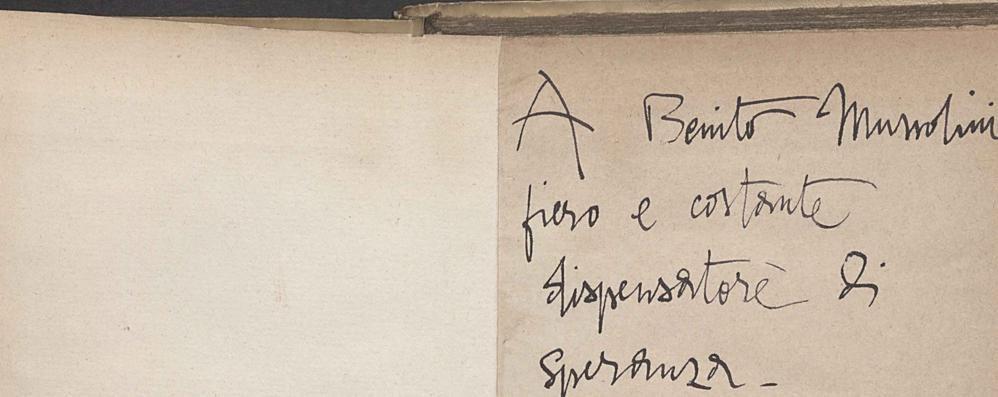 «Nessun dubbio che fossero lettere false  È nostro dovere tutelare d'Annunzio»