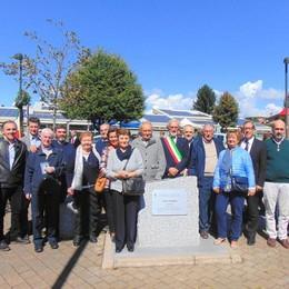 Carimate, parco dedicato a Porro  «Sia esempio per i giovani»