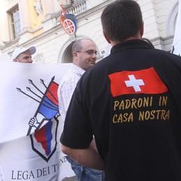 Ticino, proposta dei leghisti  «I frontalieri paghino l'entrata»