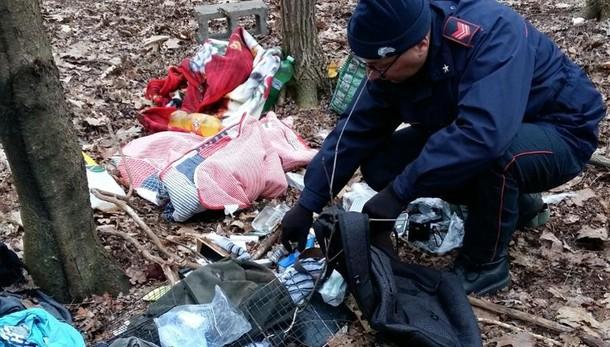 """Bregnano, spacciava cocaina nel bosco  Arrestato con mille euro di """"incasso"""""""