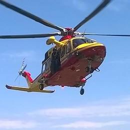 Elicottero del 118: già 55 persone multate   per interventi inutili