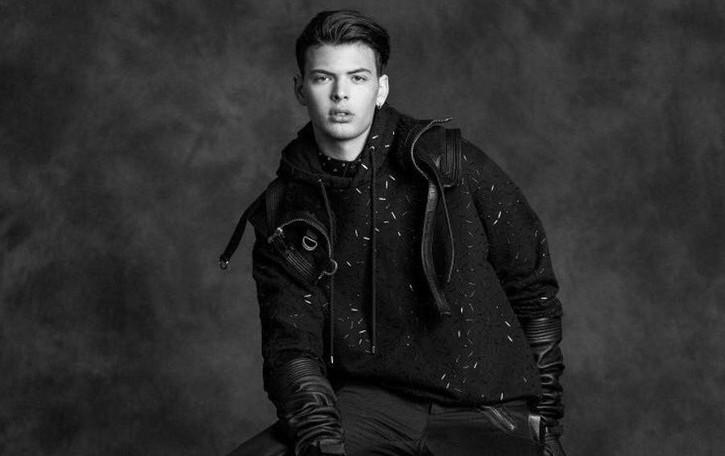 Andres, 18 anni, finalista a Elite Model   «Sfilare nella moda sogno che si avvera»