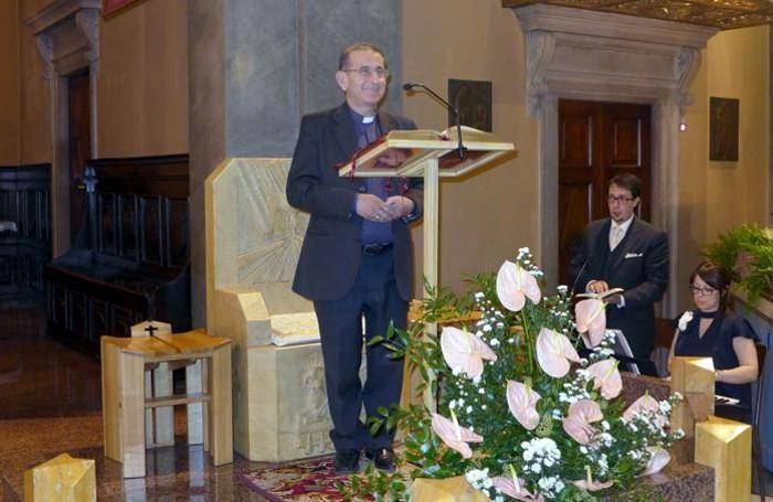 Monsignor Delpini in Santa Maria Nascente