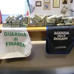 Sequestrati 33 kg cocaina a Vado Ligure