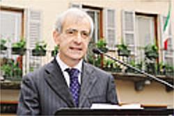Il prefetto di Como Michele Tortora