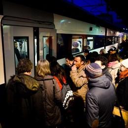 Ancora caos treni  sulla linea Como-Milano