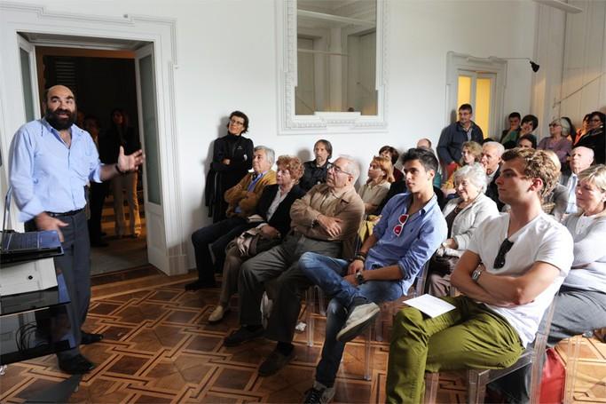 Como Villa del Grumello  Festival della luce - Lake Como  le istallazioni e laboratori didattici, Paolo di Trapani