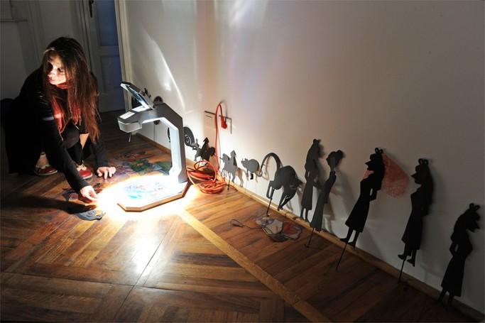Como Villa del Grumello  Festival della luce - Lake Como  le istallazioni e laboratori didattici, Fata Morgana