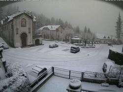 La nevicata a San Maurizio giovedì mattina