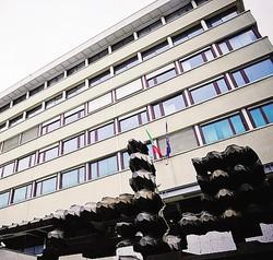 1Il tribunale di Como dove ieri si è tenuta l'udienza2 Luca Pilli