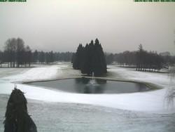 Neve a Cassina Rizzardi (webcam golf club Monticello)