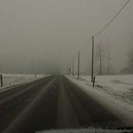Como,  la neve non fa danni    Sotto accusa le previsioni meteo