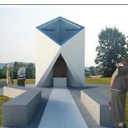 Casnate, ecco la nuova cappella Ospiterà la madonnina del rondò