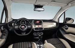 Fiat 500X, l'ampio cruscotto