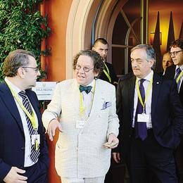 Daverio a Villa d'Este  «Como patrimonio del mondo»