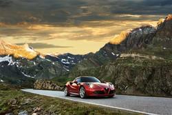 Alfa Romeo 4C, Auto Europa per le Sportive