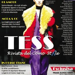 In edicola Tess  la rivista sul filo dello stile