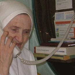 Una vita dedicata all'ospedale  Suor Luigia va in pensione