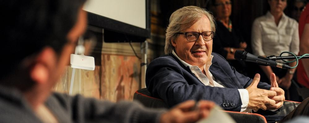 Sgarbi stronca Libeskind in tv  «Quel monumento non serve»
