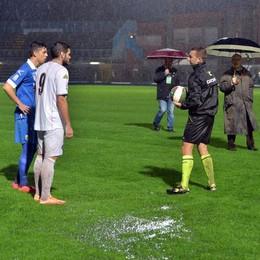 Como-Cremonese  Fa gol solo la pioggia