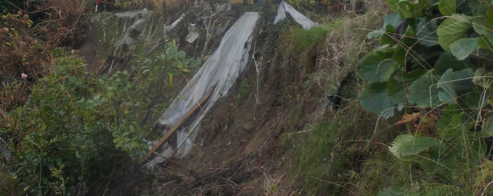 «Qui il terreno frana»: Rovascio  11 famiglie temono per la loro casa