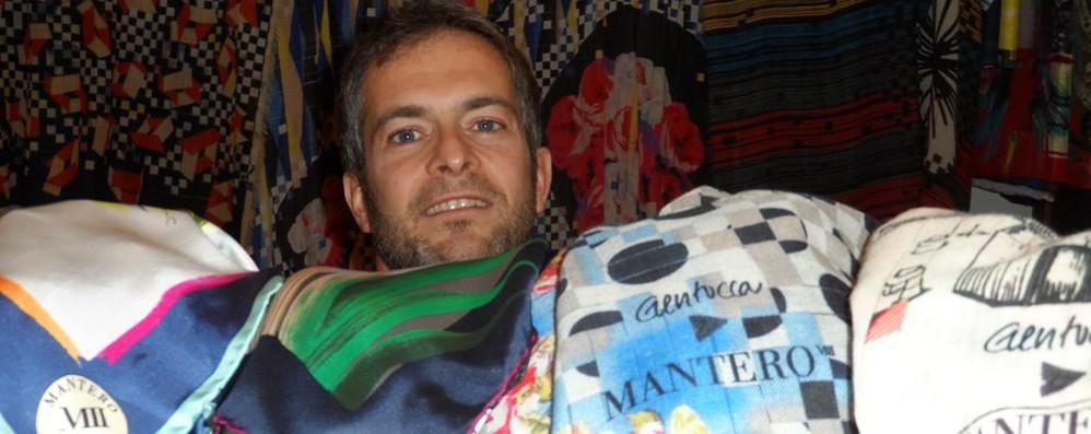 Mantero apre l'outlet  «Avanti i turisti ed Expo»