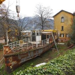 """Pianello, il """"Balilla"""" al Museo della barca lariana"""