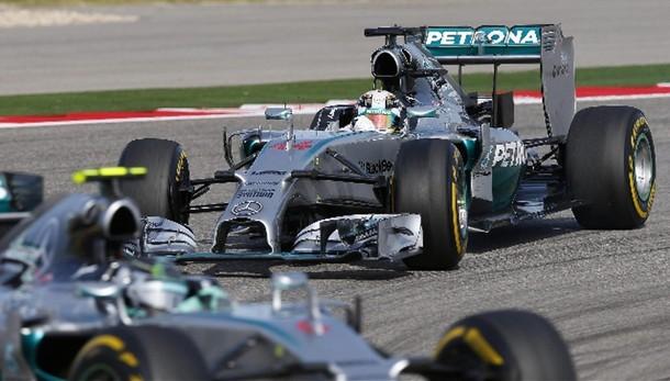 F1: Brasile, le Mercedes davanti a tutti